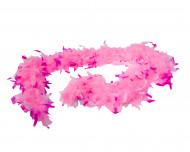 Federboa zweifarbig rosa für Erwachsene
