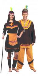 Indianerkostüm für Paare