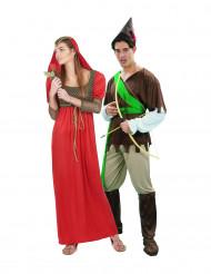 Mittelalterliches Kostüm für Paare