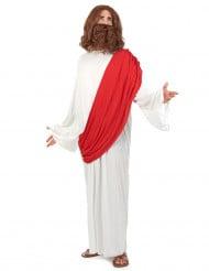 Propheten-Kostüm für Herren weiss-rot