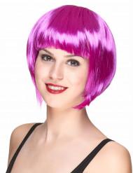 Damenkurzhaarperücke violett