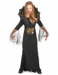 Spinnenköniginnen-Kostüm Halloween für Mädchen