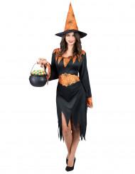 Spinnen Hexen-Kostüm Halloween für Damen