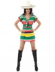 Mexikanerinnen-Kostüm für Damen