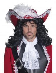 Roter Piratenhut für Erwachsene