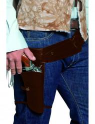 Western Banditengürtel mit Etuis für Erwachsene