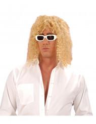 Sänger-Perücke blond gelockt