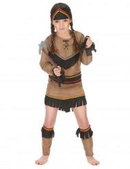 Indianerinnen-Mädchenkostüm bunt