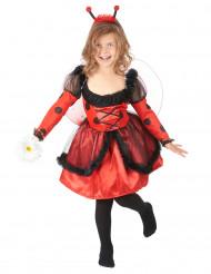 Marienkäferkostüm für Kinder Tiere rot-schwarz