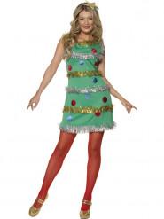 Weihnachtsbaum-Kostüm für Damen