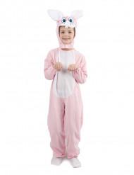 Häschen-Kostüm rosa für Kinder