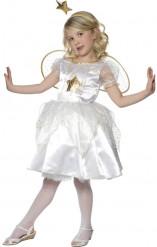 Weihnachtsengel-Kostüm für Mädchen
