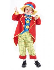 Clownskostüm klein für Jungen