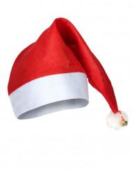 schöne Weihnachtsmann-Mütze für Erwachsene mit Schelle
