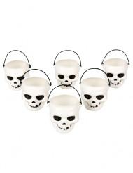 Totenkopf-Becher Halloween
