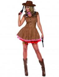 Sexy Cowgirl-Kostüm für Damen