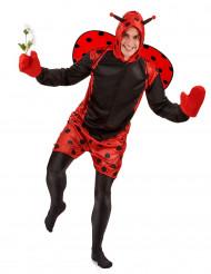 Marienkäfer-Kostüm für Erwachsene