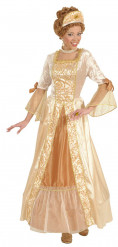 Goldenes Prinzessin Kleid für Damen
