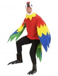 Papagei-Kostüm für Herren