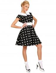 Gepunktetes Kleid für Damen