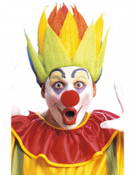 Bunte Clown Perücke