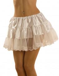 Weißer Unterrock für Damen