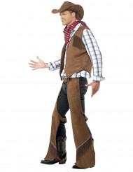 Cowboykostüm für Herren Western-Verkleidung bunt