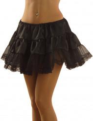 Schwarz Unterrock für Damen