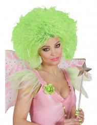 Perücke grün für Damen