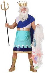 Poseidon-Kostüm für Herren