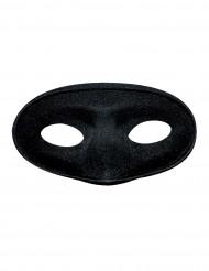 Maskeraden-Halbmaske schwarz