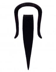 Selbstklebender Bart und Schnurrbart