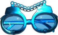 Transparente Brille Handschellen für Erwachsene