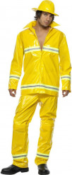 Feuerwehrmann-Kostüm für Herren