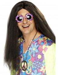 Hippieperücke für Herren