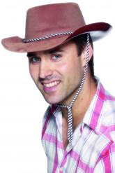Cowboyhut braun für Herren