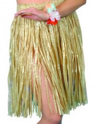 Rock Hawaii für Damen natürliche Farben