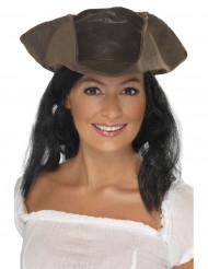 Hut + Haare Pirat