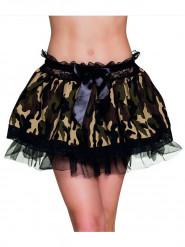 Sexy Röckchen militär für Damen