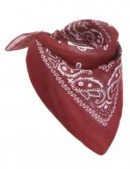 Rotes Bandana-Tuch für Cowboy-Kostüme