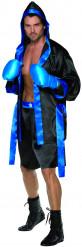 Boxerkostüm für Herren schwarz und blau