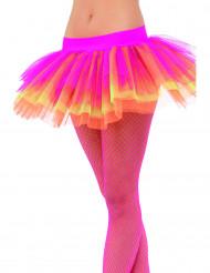 Ballettröckchen rosa, gelb und orange für Damen
