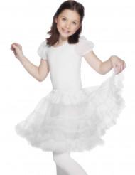 Ballett Rock für Mädchen Weiß