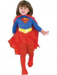 Supergirl™-Kinder-Lizenzkostüm für Mädchen rot-blau-gelb