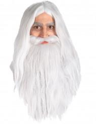 Gandalf-Perücke und Bart aus Herr der Ringe™ für Herren
