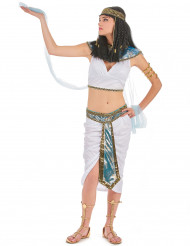 Pharaonin-Kostüm für Damen bunt