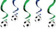 Hänge-Deko Fußball bunt
