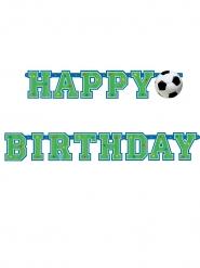 Geburtstags Fußball-Banner bunt