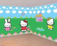 Wand-Deko Hello Kitty™