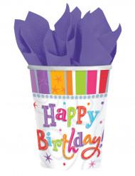 Becher Happy Birthday